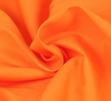 Baumwolle Popelin Orange