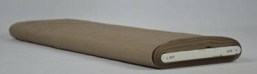 Baumwolle Popelin taupe 50x150 cm